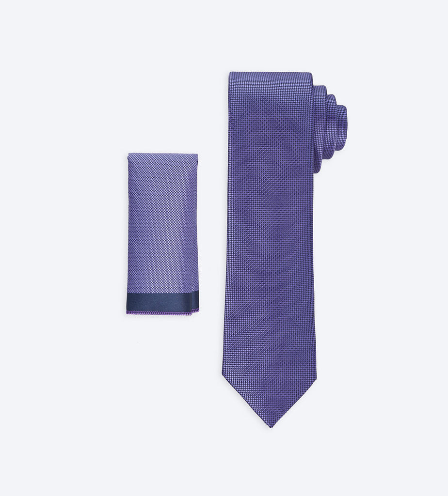 Purple Solid Tie