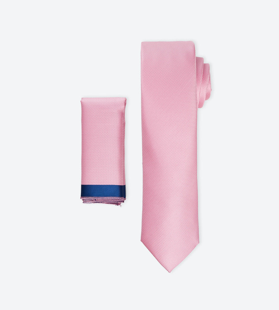 Baby Pink Solid Tie