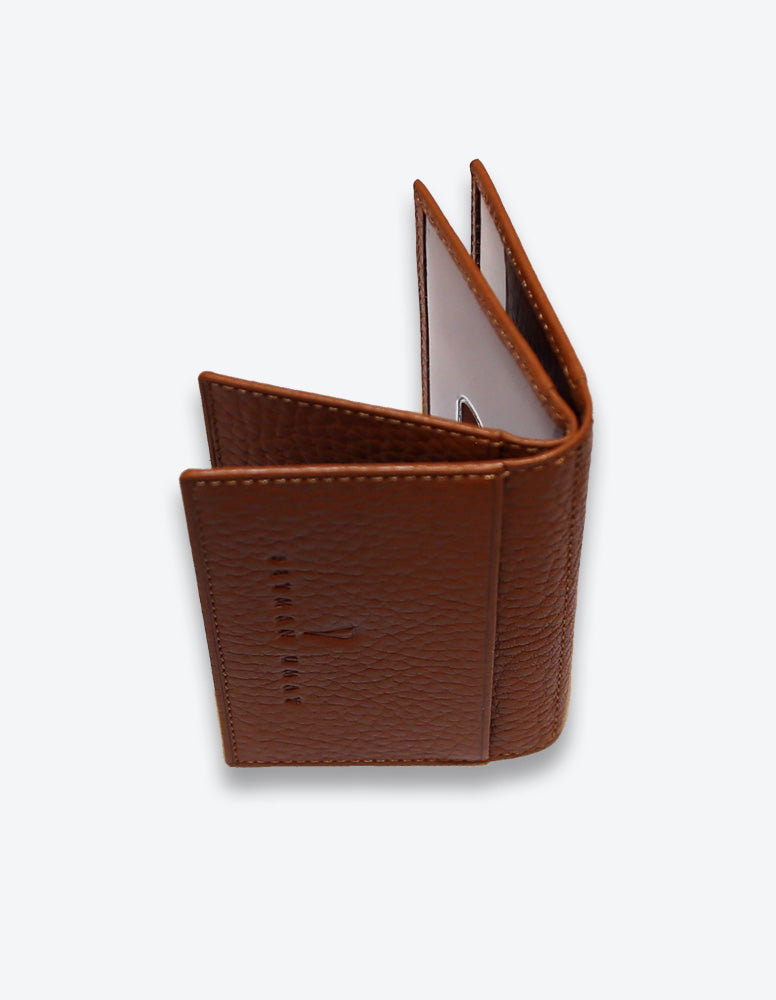 Tobacco Leather Card Holder