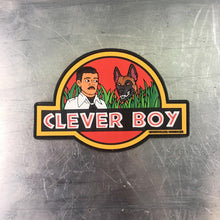 Clever Boy PVC patch