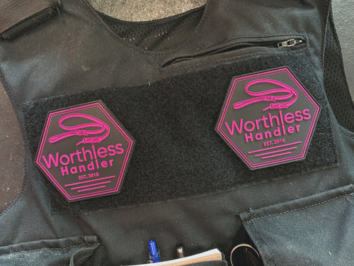 Worthless Pink Patch