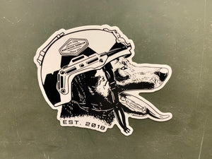 Op Dog Sticker