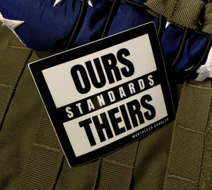 Standards Sticker