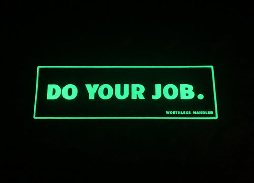 Do Your Job Patch