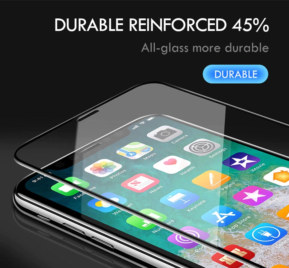 100D Full Cover Protective Tempered Glass
