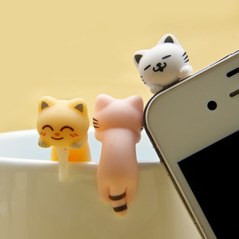 CatXaa Cellphone Earphone Jack Dust Plug