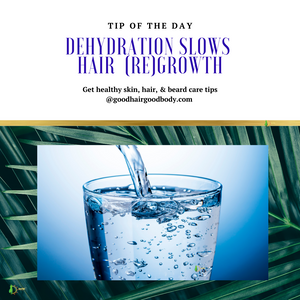 Dehydration Slows Hair (Re)Growth