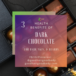 3 Health Benefits of Dark Chocolate