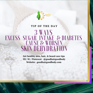 3 Ways Excess Dietary Sugar & Diabetes Dehydrate Skin