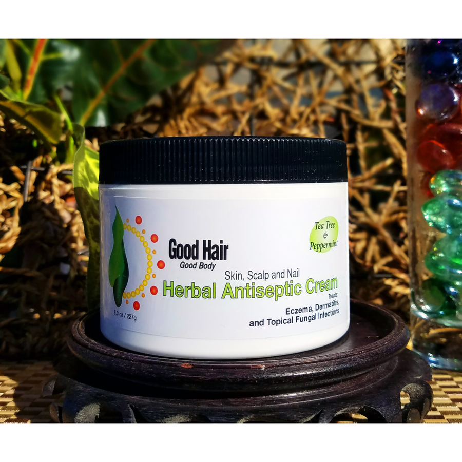 Herbal Antiseptic Cream (for Eczema i.e. Contact Dermatitis & Itchy Skin & Scalp)
