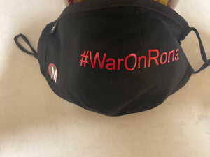 The MAD COOL #WarOnRona Face Mask