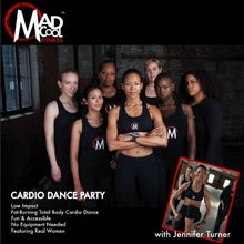 Load image into Gallery viewer, MAD COOL CARDIO DANCE PARTY DVD