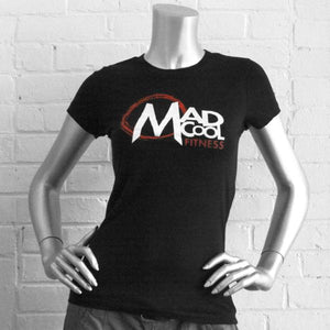 The MAD COOL FITNESS #WarOnRona Logo T-shirt
