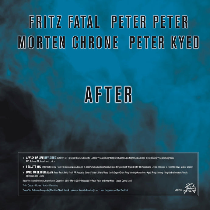 Fritz Fatal, Peter Peter, Morten Chrone, Peter Kyed - After / Det Blødende Hjerte MRLP33