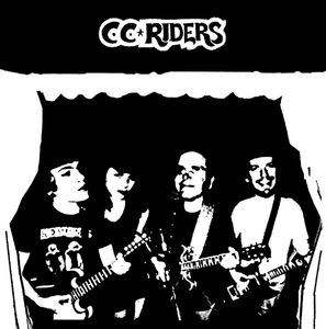 "C.C. Riders ‎ ""Monsieur Jeffrey Evans And His C.C. Riders "" LP"