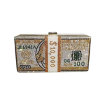 Rhinestone Money Bag