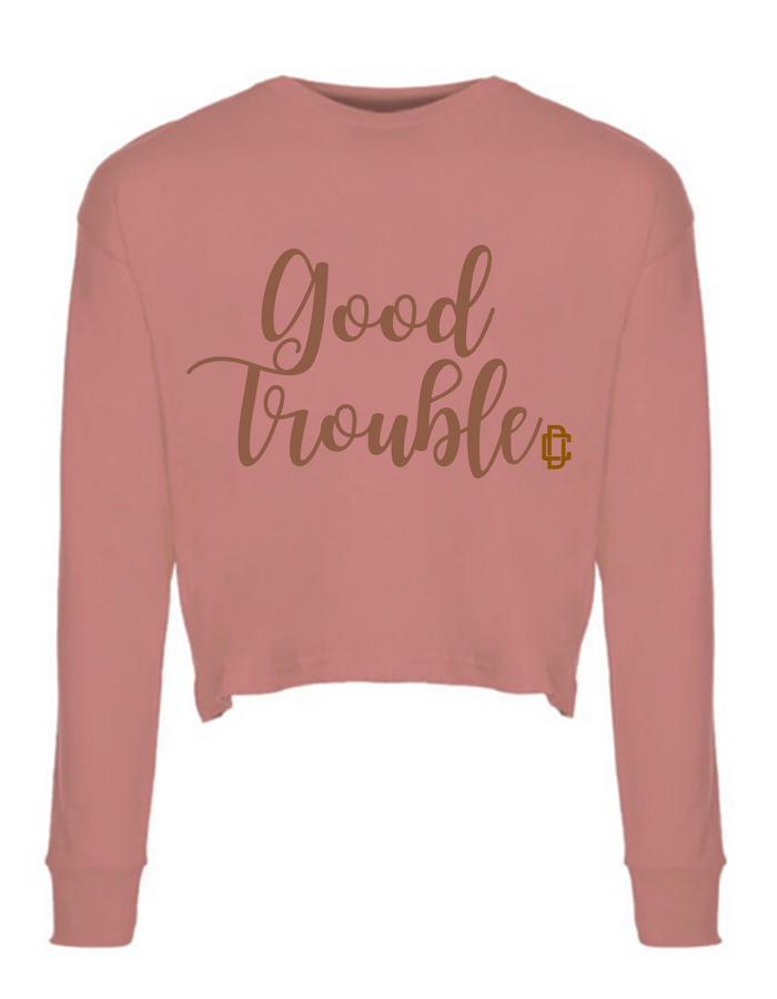 Good TROUBLE LS Crop