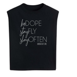 Be Dope! Padded shoulder tee