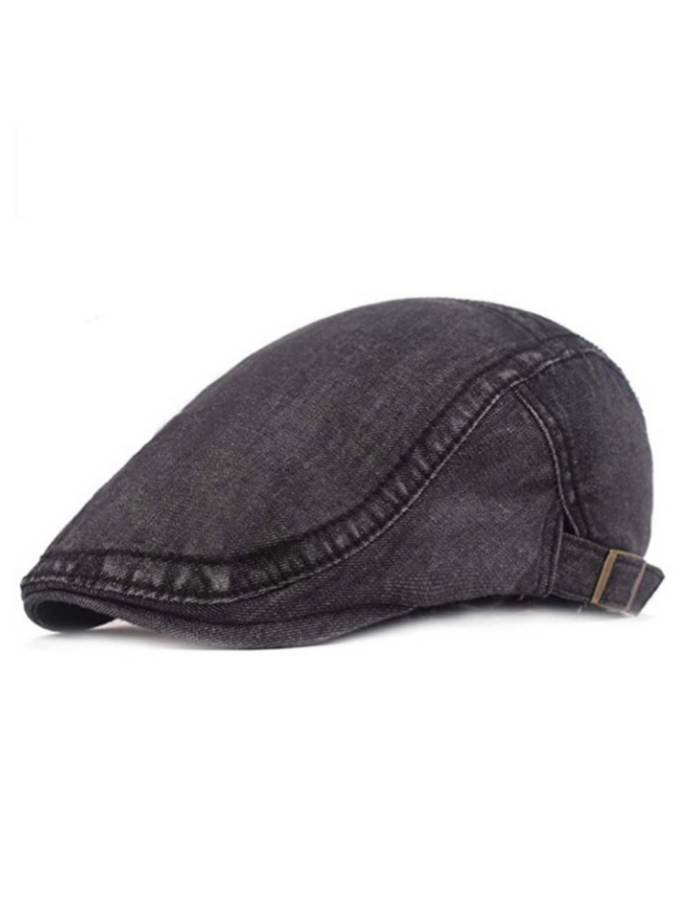 Denim Ivy Cap Black