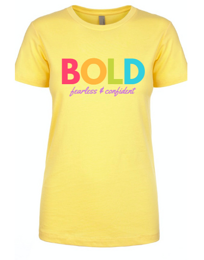 Bold Colorful Yellow