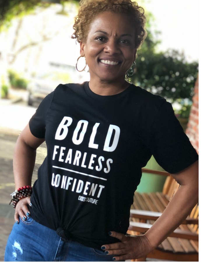 Bold Fearless Confident