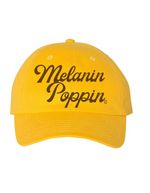 Embroidered Melanin Poppin cap