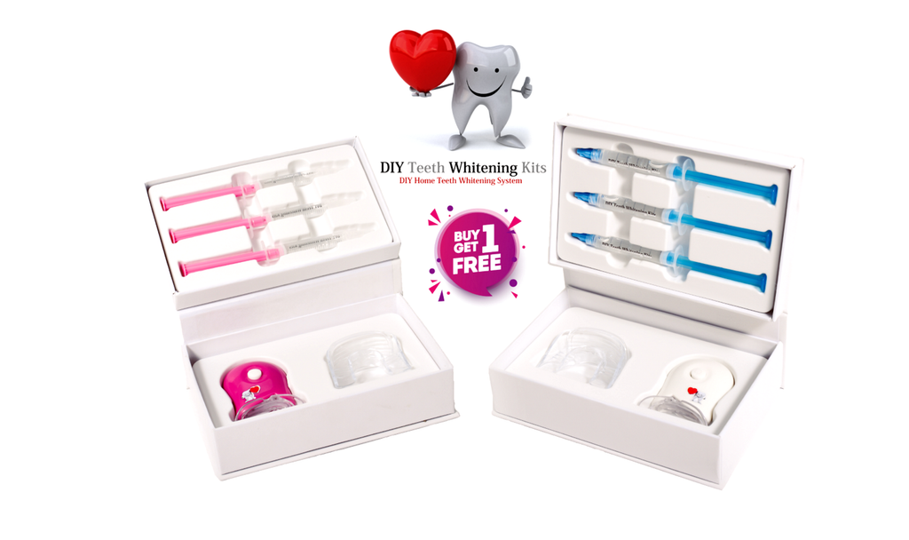 DIY Teeth Whitening Kits | Australia's Best Valued Teeth Whitening Kits | Buy 1 Get 1 FREE