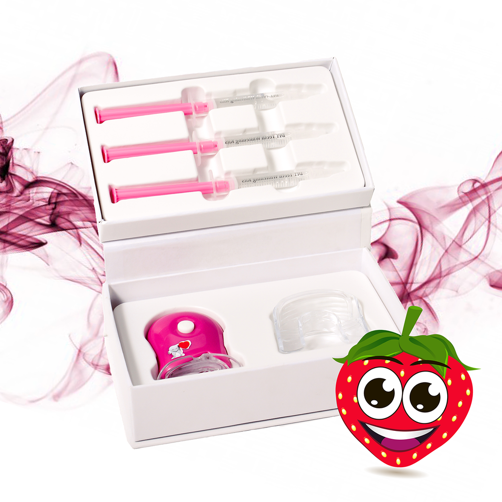 DIY Teeth Whitening Kits | Strawberry Teeth Whitening Gel Kits