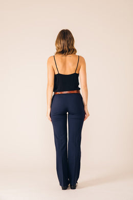 BLUE BERLIN TAILORED PANTS