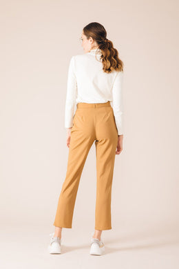 CASABLANCA CAMEL TAILORED PANTS