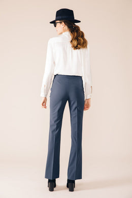 OSLO OIL TAILORED TROUSERS