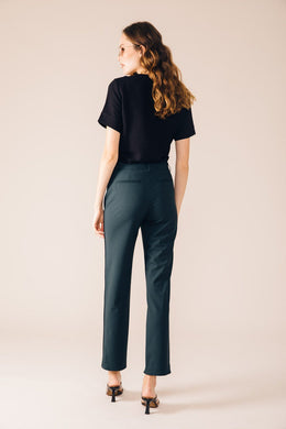 NEW-YORK TAILORED TROUSERS BOTTLE GREEN