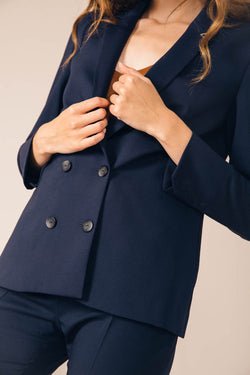 NAVY BLUE BOSTON TAILORED JACKET