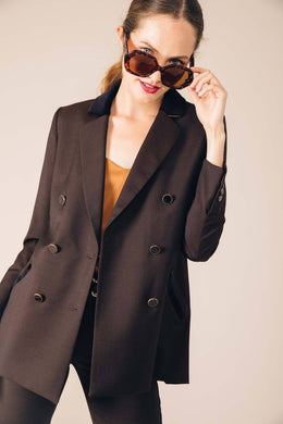 BROWN MOSCOW TAILORED JACKET