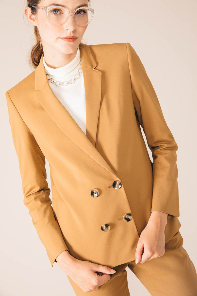 VESTE TAILLEUR BOSTON CAMEL