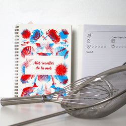 NOTEBOOK - MY RECIPES FROM THE SEA