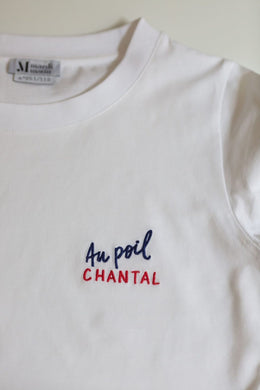T-SHIRT AU POIL CHANTAL