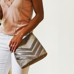 ANETTE TAUPE BAG