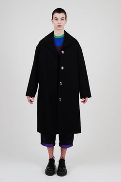 BLACK CHLOÉ COAT