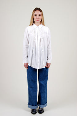 WHITE BIS SHIRT