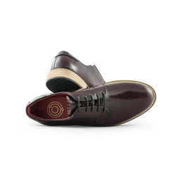 DERBIES ALPHA LOW - BORDEAUX