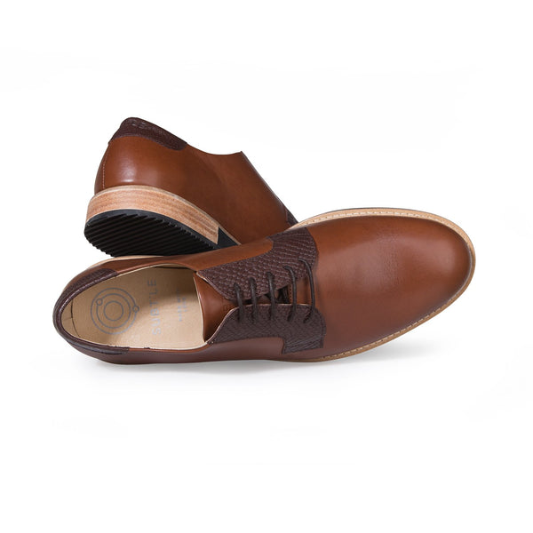 DERBIES ALPHA LOW - CAMEL