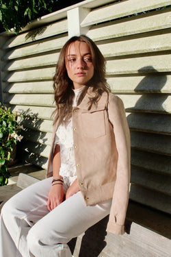 GIRLS BEIGE JACKET