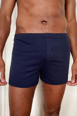 BLUE NAVY BOXERS - PACK OF 2