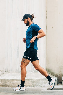 RECYCLED MATERIAL SPORTS SHORTS