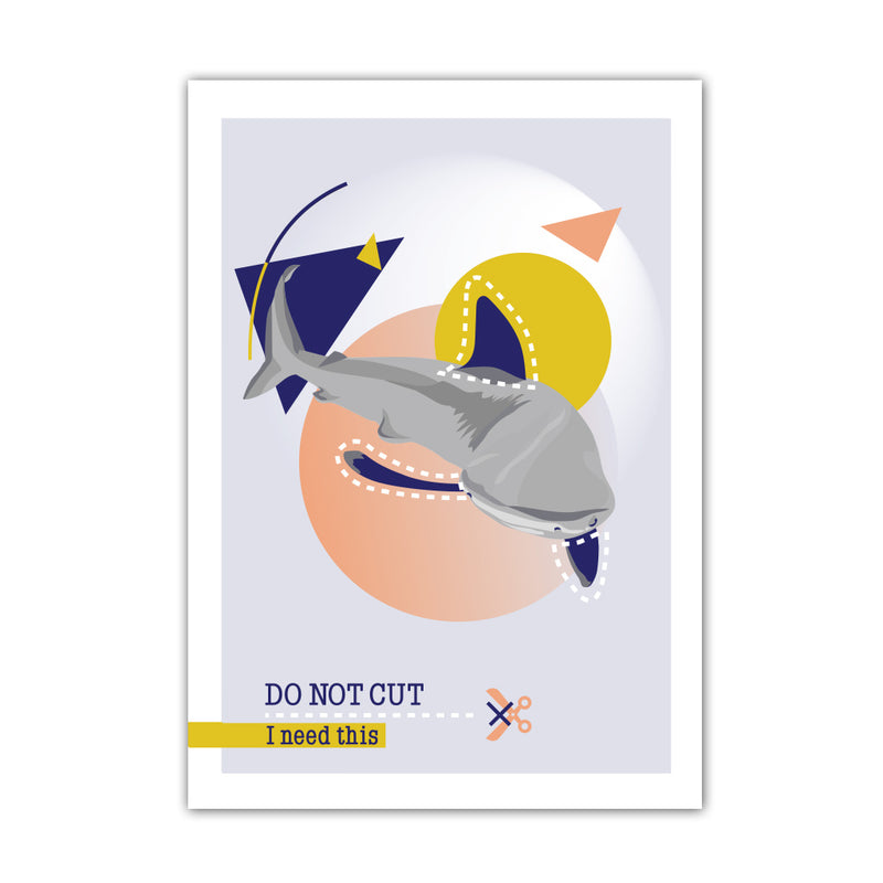 AFFICHE A4 DO NOT CUT - REQUIN