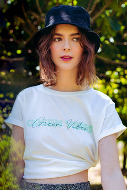 GREEN VIBES T-SHIRT