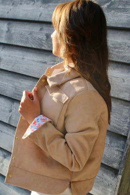 VESTE GIRLS BEIGE