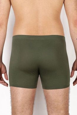 KHAKI GREEN HERITAGE BOXER - PACK OF 2