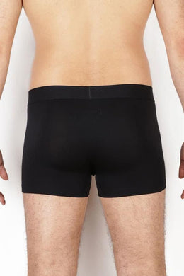 BLACK COMFORT BOXERS - PACK OF 2